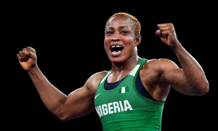 2020 Olympics: Nigeria's Blessing Oborududu wins Silver medal in Wrestling