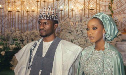 Yusuf Buhari and Zahra Bayero wed in Kano (photos)