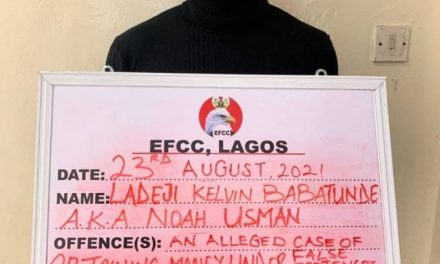 Man defrauds 'Yahoo boys' by pretending to be an EFCC agent, gets arrested
