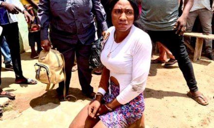 Crossdresser arrested by Vigilantes in Kogi