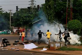 Violent protests erupts in Plateau State