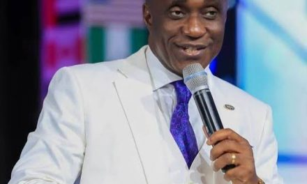 'I am qualified for a private jet because I once gave a million dollar offering'  — David Ibiyeomie