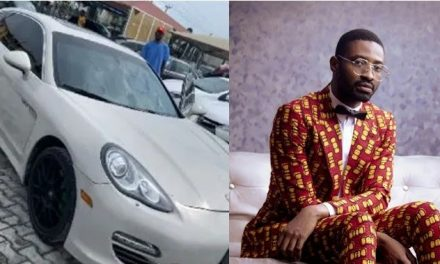 Ric Hassani buys a brand new Porsche (video)