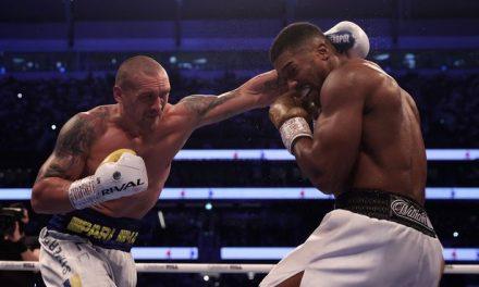 Oleksandr Usyk claims World heavyweight champion after defeating Anthony Joshua