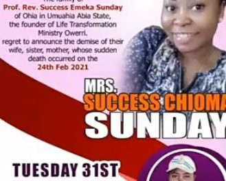 Pastor forced to marry fiancee's corpse who died during abortion