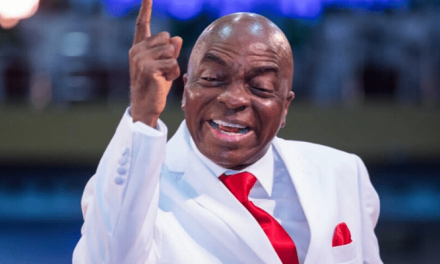 'I saw this Government coming in with a bloodthirsty gut' — Bishop Oyedepo