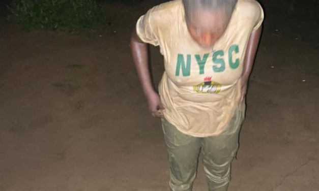 Soldier allegedly pours dirty water on female NYSC member (video)