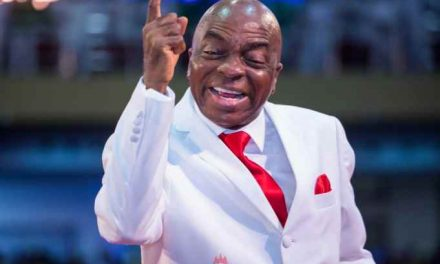 Bishop Oyedepo warns worshippers against stealing from his Church