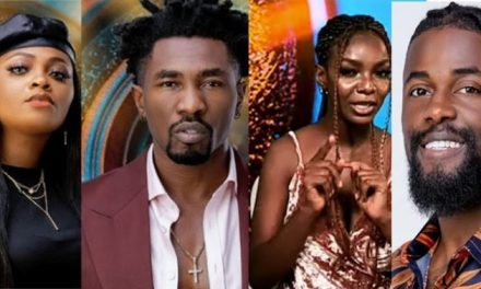 BBNaija: Tega, Boma, Michael and Peace evicted!