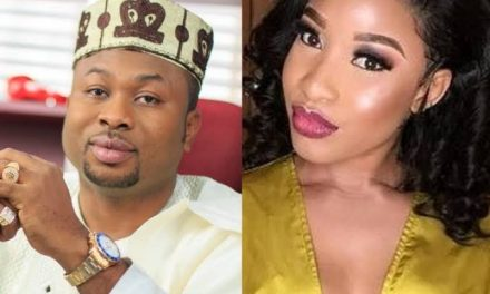 Phone recording of Tonto Dike threatening to poison ex husband, emerges online (Audio)
