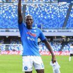 Osimhen scores twice as Napoli thumps Sampdoria